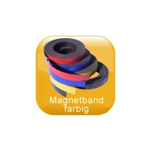 Magnetband farbig