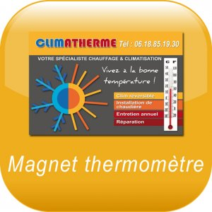 Thermometer-Magnet